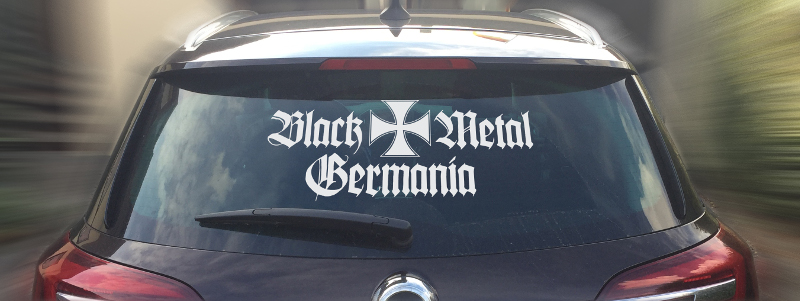 Original Black Metal Germania Carsticker